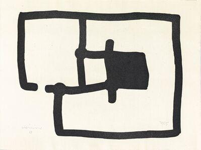 Eduardo Chillida, 'Zedatu III', 1991