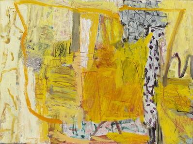 Elisabeth Cummings, 'Yellow interior', 2018