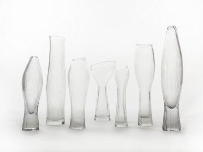 Tapio Wirkkala, 'Line-cut vases', 1950s