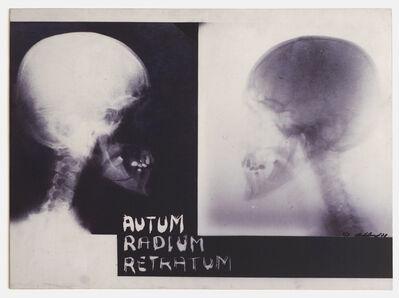 Paulo Bruscky, 'Autum radium retratum', 1978-2013
