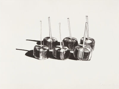 Wayne Thiebaud, 'Suckers State I', 1968