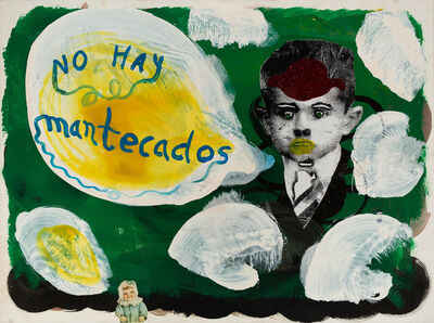Katherine Bernhardt, 'No hay mantecado (No more ice cream)', 2002