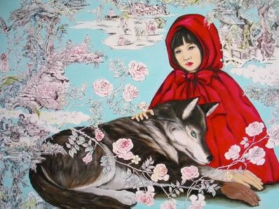 Ayakoh Furukawa, 'Little Red Riding Hood with an Odd-Hand Wolf', 2012