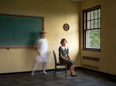 Lissa Rivera, 'Yellow Classroom (Desire)', 2018