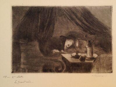 Camille Pissarro, 'Grand-mere (effet de lumiere)', 1889