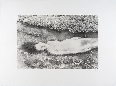 Joyce Tenneson, 'Self-Portrait in Stream', 1970