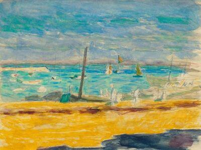 Pierre Bonnard, 'Marine dans un port du midi', 1867-1947