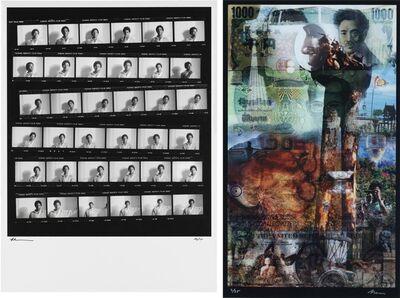 Lee Jaffe, 'Untitled (Jean-Michel Basquiat, Contact Sheet)'
