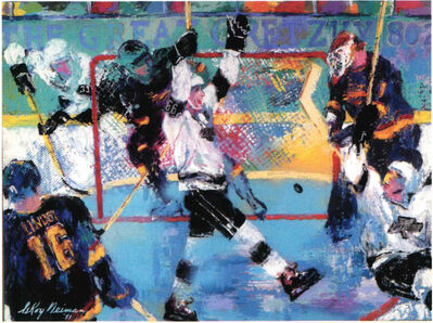 LeRoy Neiman, 'Gretzky's Goal ', 1994