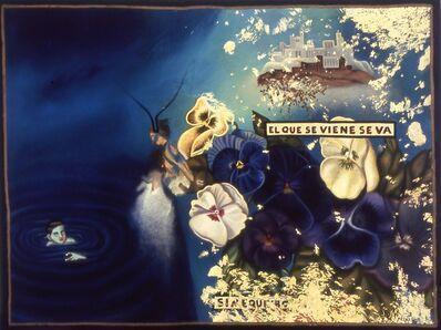 Julio Galán, 'El Que Se Viene Se Va', 1988
