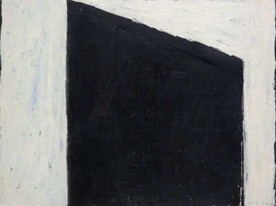 Thornton Willis, 'Black Wedge', 1980