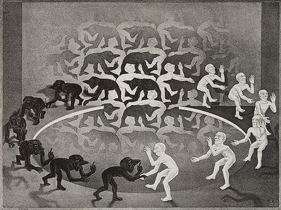 Maurits Cornelis Escher, 'Encounter', 1944/57