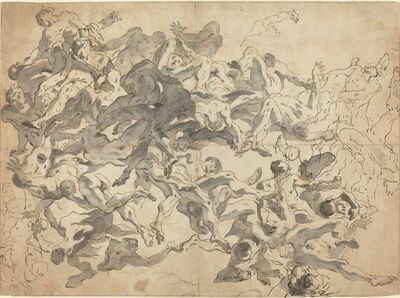 Giambattista Tiepolo, 'The Fall of the Rebel Angels', 1717-1720