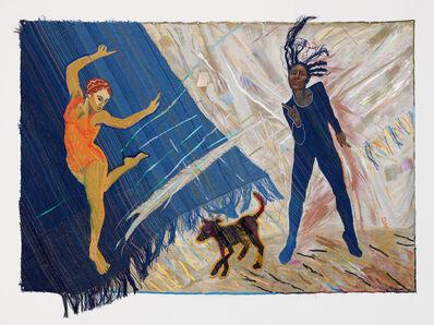 Emma Amos, 'Black Dog Blues', 1983