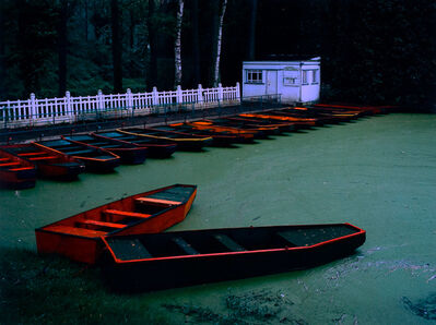 Cole Weston, 'Punts, Le Quesnoy, France', 1983