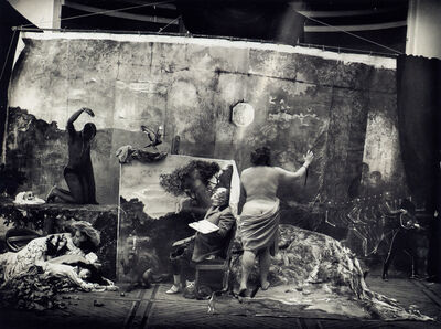 Joel-Peter Witkin, 'Studio of the Painter', 1990
