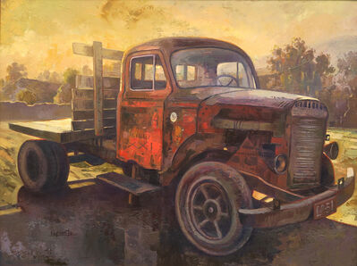 Benjamín Lafuente, 'Old Truck', 2017