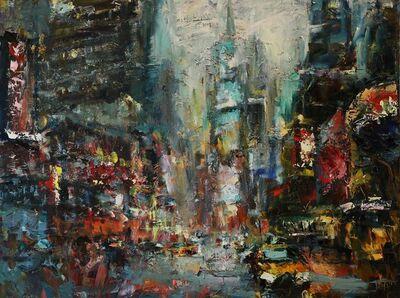 Lyudmila Agrich, 'Rainy Times Square', 2019