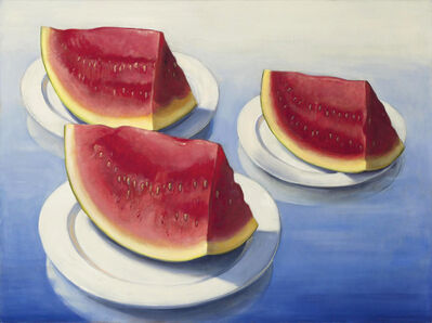 Denise Mickilowski, 'Three Watermelon Slices', 2017