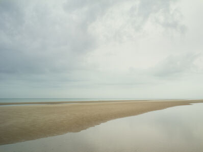 Donald Weber, 'Juno Beach - October 21, 2015, 8:59am. 10ºC, 93% RELH, Wind WSW, 8 Knots. VIS: Fair, Overcast Clouds, Moderate Rain', 2015