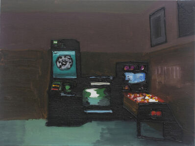 Rodrigo Andrade, 'Interior with game machines', 2016