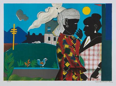 Romare Bearden, 'Conversation', 1979