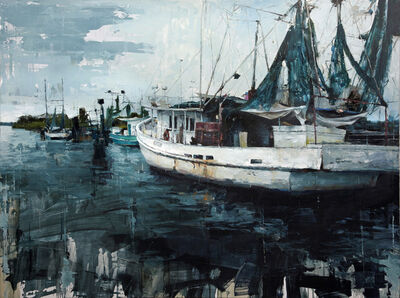 Aron Belka, 'Port of Delcambre', 2015