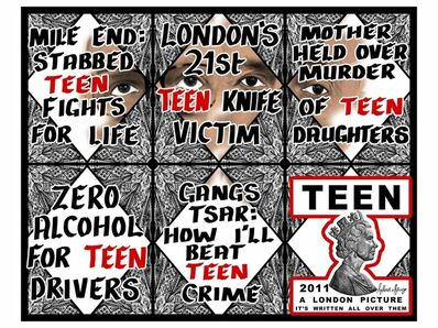 Gilbert and George, 'Teen', 2011