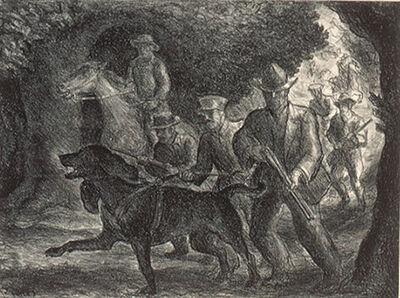 John Steuart Curry, 'Manhunt', 1934