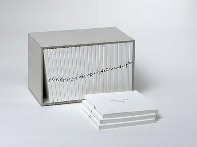 David Cunningham, 'Alphabet', 2010