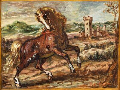 Giorgio de Chirico, 'Cavallo impennato'