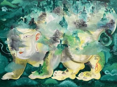 Nanchuan Daocheng 南川道盛, 'The Classic of Mountains and Seas 观山海 ', 2020