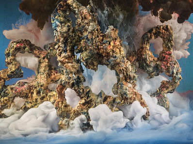 Kim Keever, 'Abstract 34884d', 2017