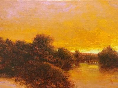 Shawn Krueger, 'Golden Evening, Grand River', 2019
