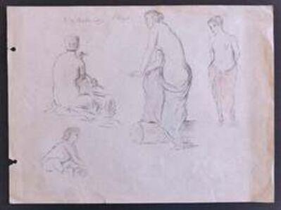 Pierre Puvis de Chavannes, 'Figures', Late 19th Century