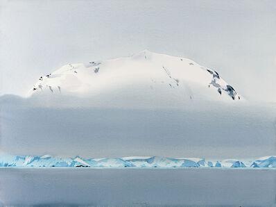 Scott Kelley (b. 1963), 'Water, Glacier, Fog, Mountain, Neumeyer Channel, Antarctica'