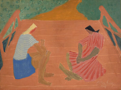 Milton Avery, 'Two Girls', 1949