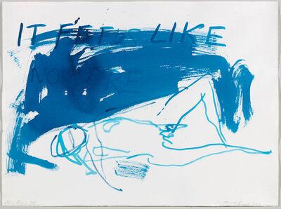 Tracey Emin, 'Blue Figure III', 2013