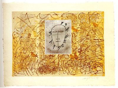 Mimmo Paladino, 'Rabanus Maurus', 2003