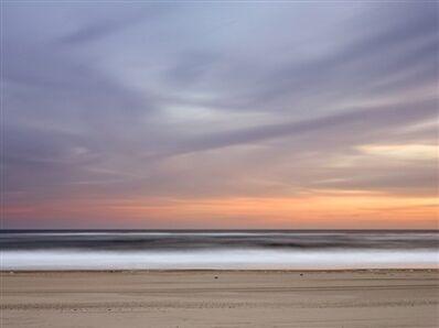 Daniel Jones, 'Resting Gulls at Dusk Coopers Beach'