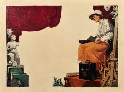 Elbert McGran Jackson, 'The Artist's Studio'