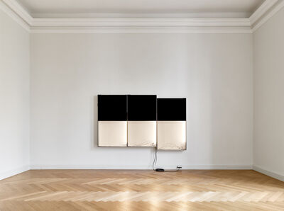 Pedro Cabrita Reis, 'Triple Black', 2018