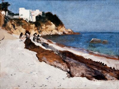 John Singer Sargent, 'Marina Grande, Capri', 1878