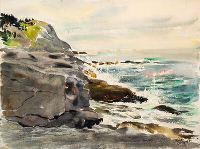 Edward Christiana, 'White Head From Gull Rocks', 1980