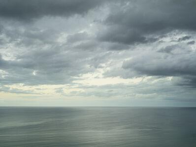 Donald Weber, 'Gold Beach - October 18, 2014, 7:12pm. 18ºC, 82% RELH, Wind SSW, 4 Knots. VIS: Fair, Overcast Clouds, Moderate Rain', 2014