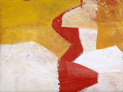Charlotte Park, 'Untitled (Red, Yellow, and White)', ca. 1955
