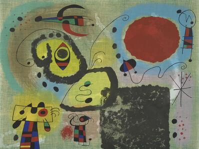 Joan Miró, 'Le Centenaire', 1953