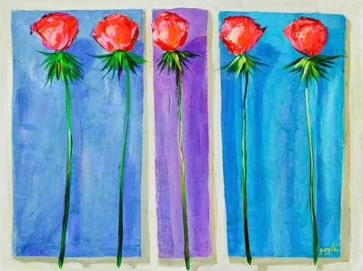 Lenner Gogli, 'Romantic Roses', 2015