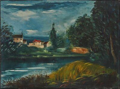 Maurice de Vlaminck, 'Paysage au bord de l'eau', ca. 1920