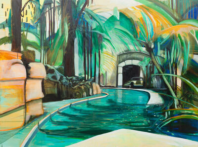 Louise Thomas, 'Artificial Spring and Palms', 2013